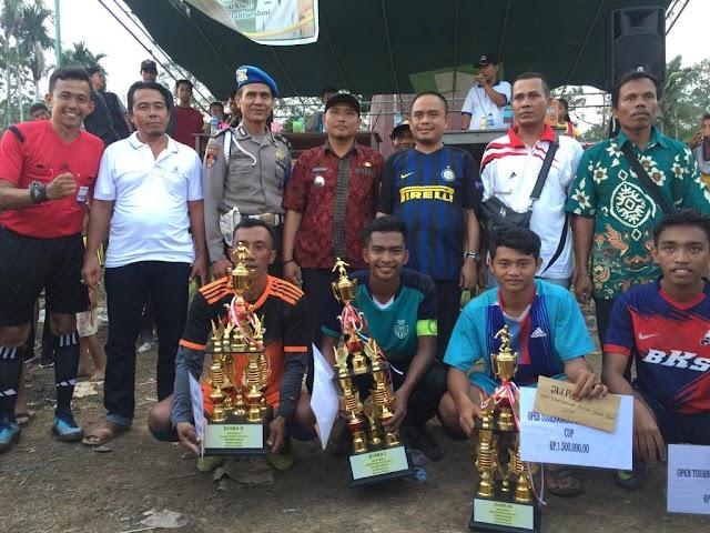 DMS FC Juara Open Turnamen Sungai Sepeti 2019