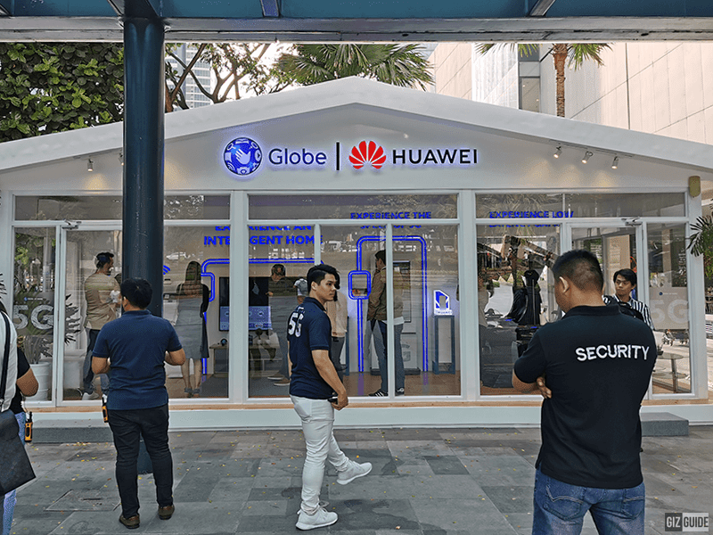 You can try 5G at Globe-Huawei Lifespeed Home booth BGC until September 6