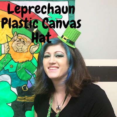 Pinch proof yourself and look super cute doing it with this easy to follow free plastic canvas pattern. This Leprechaun Hat is easy to make with basic plastic canvas skills, a sheet of plastic canvas, and 2 4-1/2 inch plastic canvas circles.