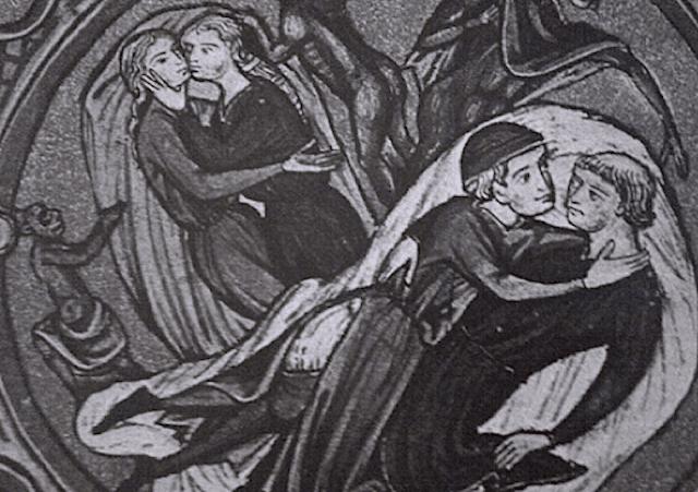 Unión civil homosexual en la Edad Media
