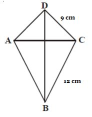 Diagonal Layang Layang : diagonal, layang, Contoh, Pembahasan, Keliling, Layang-Layang