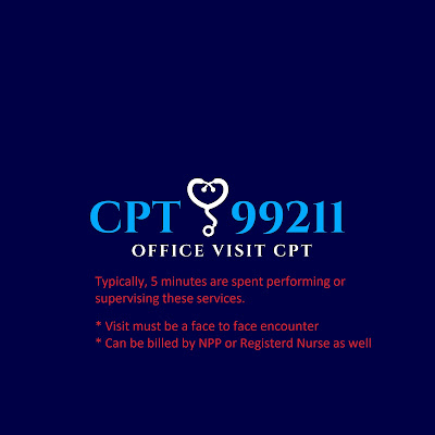 CPT 99211 - Offive visit new patient cpt