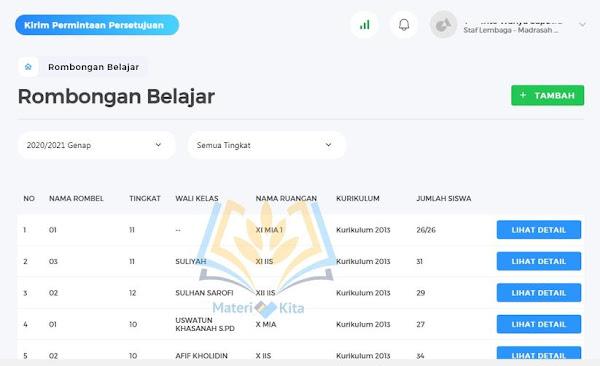 Tambah Rombongan Belajar EMIS 4.0