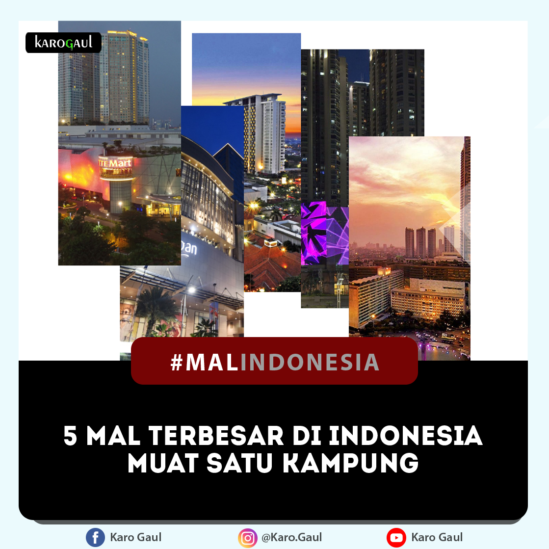 5 Mall Terbesar di Indonesia