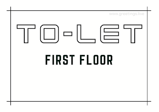 Tolet board first floor A4 Size images free download