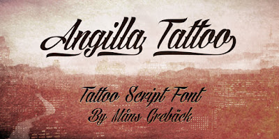Angilla Tatto Font