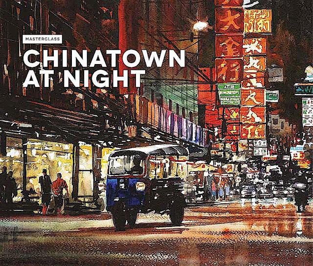 Joe Dowdon 2015, Masterclass China at Night