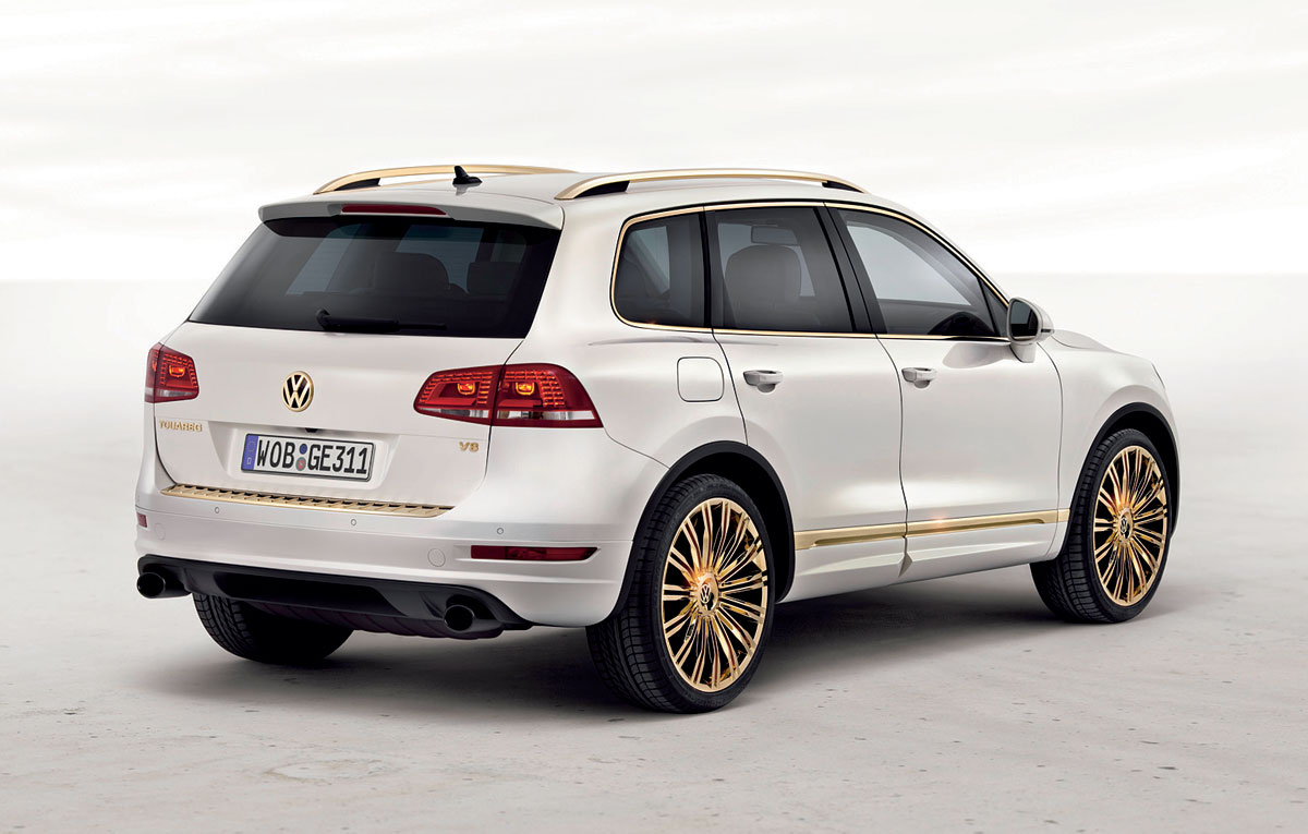 volkswagen touareg gold edition cars prices review. Black Bedroom Furniture Sets. Home Design Ideas