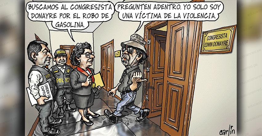Carlincaturas Viernes 30 Noviembre 2018 - La República