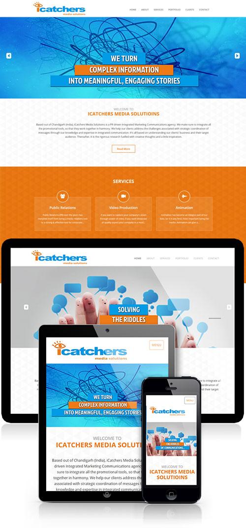 marketing agency wesite design