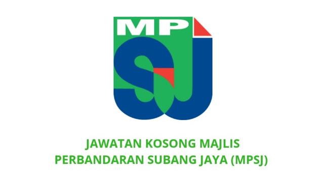 Jawatan Kosong Majlis Perbandaran Subang Jaya 2021 (MPSJ)