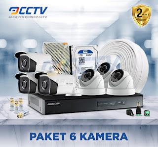 paket cctv 6 camera