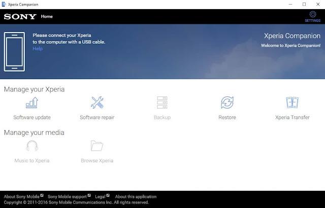 أفضل برنامج لمستخدمي هواتف Sony تطبيق Xperia Companion حل جميع مشاكل هواتف سوني