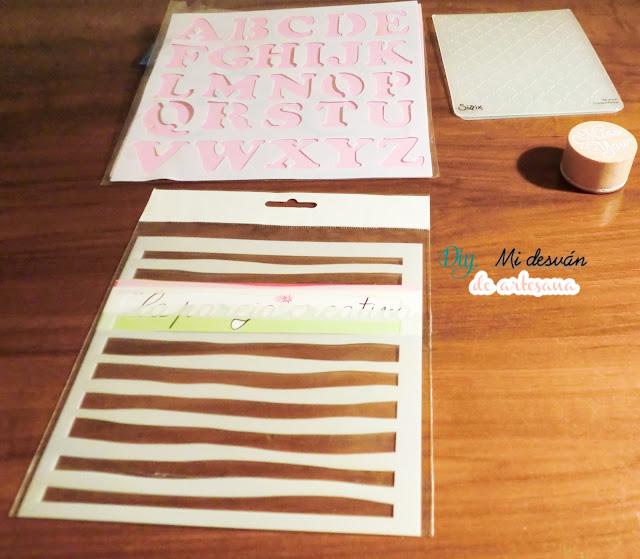 Stencils y sello