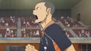 ハイキュー!! アニメ 3期1話 田中龍之介   Karasuno vs Shiratorizawa   HAIKYU!! Season3