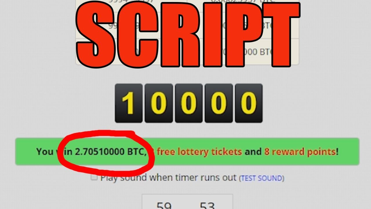 Freebitco in roll 10000 script free 2018 - Bitcoiners Home
