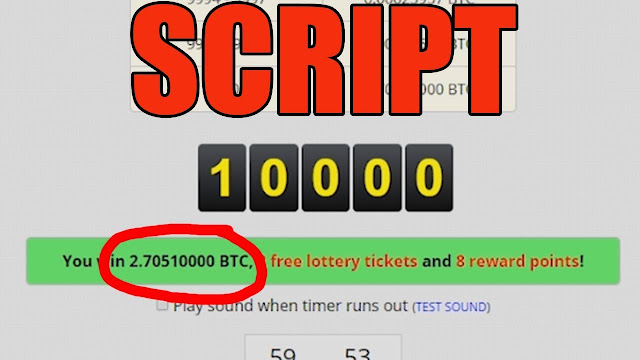Script To Always Win Win Roll 10000 Bitcoin In Freebitco in