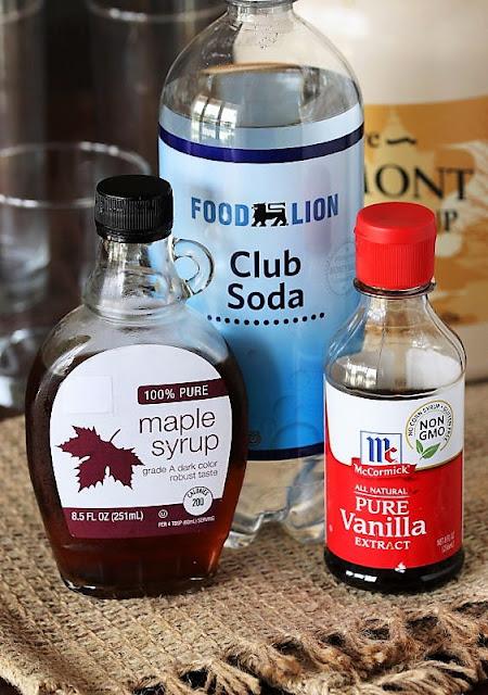 Homemade Cream Soda Ingredients Image