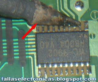 reparacion de un mando a distancia