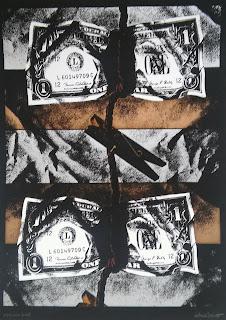 Antoni Miró arte denuncia social símbolo Dólar