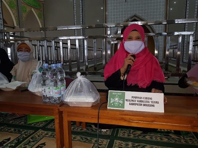 Pimpinan Cabang (PC) Muslimat NU Buleleng Perkuat Jaringan Organisasi Turba Ke Majelis Taklim Al Hijriyah Seririt