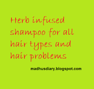 herb infused shampoo