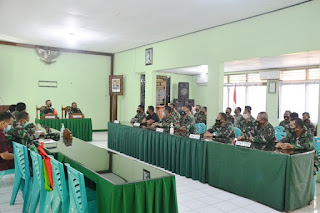 Tim Wasrik Kodam iv Diponegoro Datangi Kodim 0719 Jepara