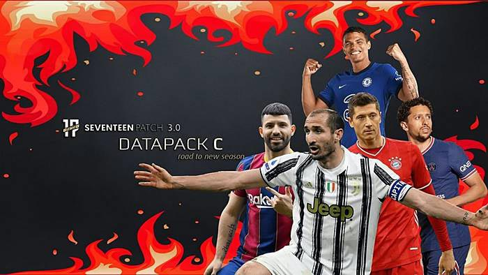 Seventeen Patch V3 AIO (Data Pack C) Season 2022 For PES 2017