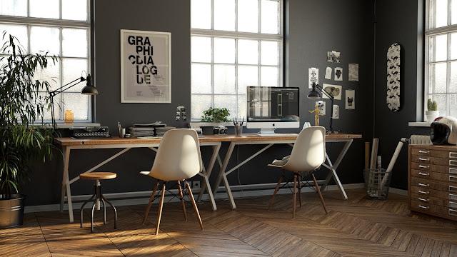 Desain Kantor Unik Minimalis