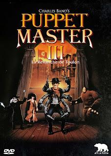 jaquette DVD Artus Films de PUPPET MASTER 3 réalisé par David DeCoteau