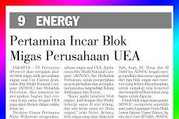 Pertamina seeks UAE oil and gas company block