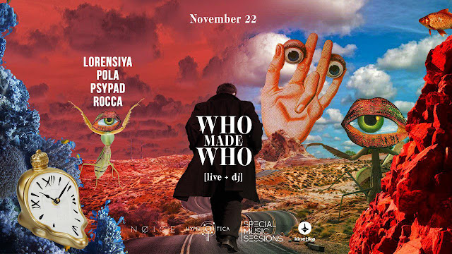 WhoMadeWho в клубе Special Music Session