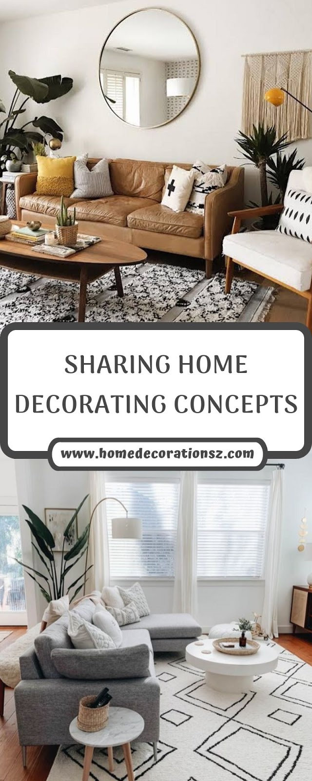 SHARING HOME DECORATING CONCEPTS