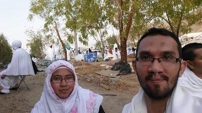 Waktu mustajab berdoa di Hari Arafah, Wukuf di Arafah, Langit terbuka semasa hari wukuf