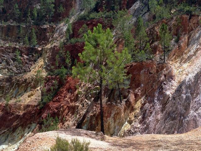 visitar la Mina Peña de Hierro en Huelva