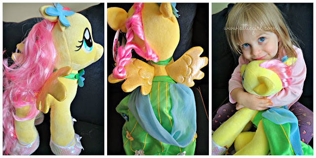 Fluttershy, My Little Pony, holiday gifts, Build-a-bear Workshop