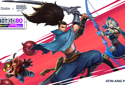 See you at the Rift! Globe & Riot collabs on new RiotGO promos to take your Wilf Rift Experience to the next level!