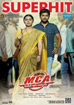 MCA Middle Class Abbayi 2017 Full Hindi Dubbed Movie Download