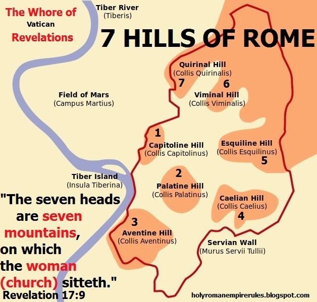 Vatican 7 hills