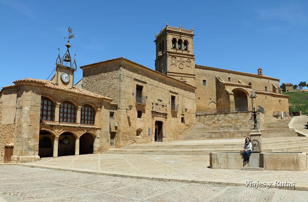 Plaza de Morón de Almazán, Soria