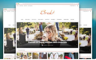 Brakt Responsive Blogger Template