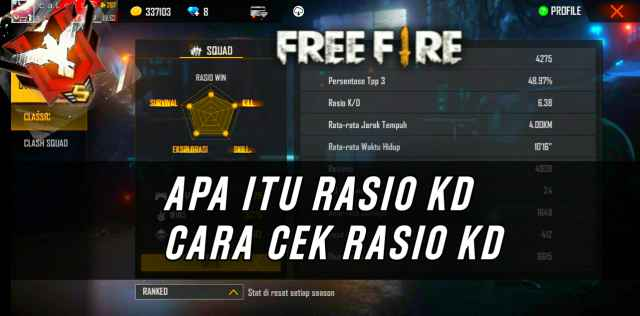 Apa Itu Rasio KD di Free Fire