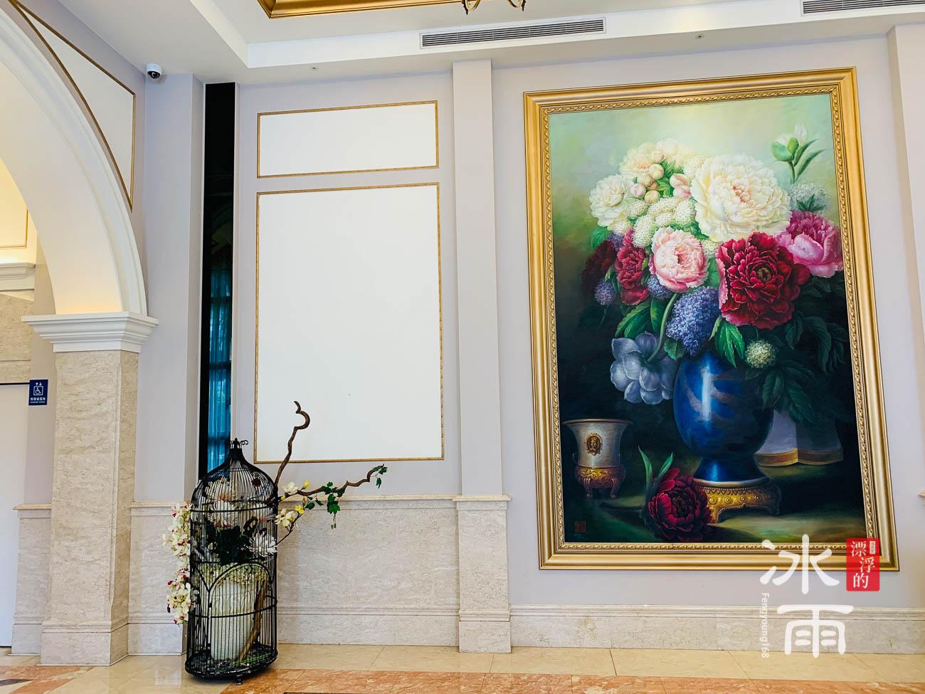 首都大飯店|巨型畫作