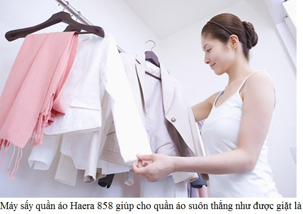 Máy sấy quần áo Haera Nhật Bản, quần áo luôn giữ hương thơm