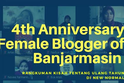 4th Anniv Female Blogger BJM