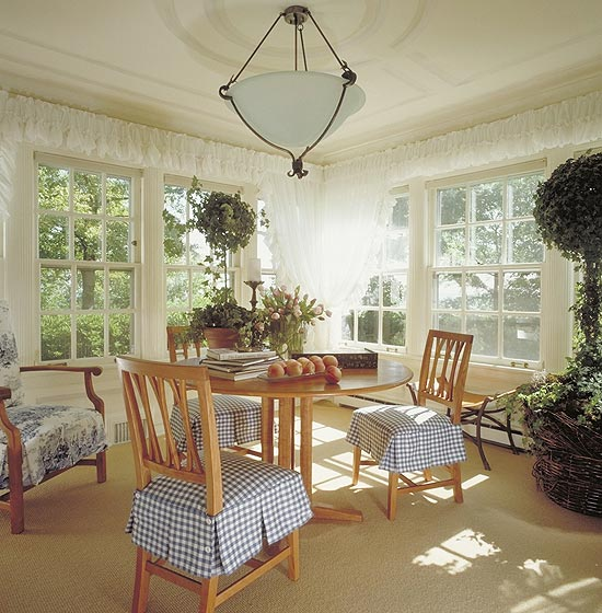 Home Design Ideas Elevation: Window Treatment Ideas For Corner Windows