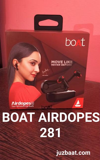 boat airdopes 281