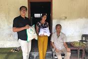 Belum Resmi Dilantik, PK APHB Gianyar Salurkan Bantuan Sosial Kepada Lansia