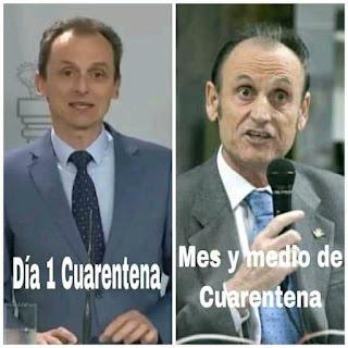 Ministro Pedro duque vs presidente del real Betis Balompié Manuel Ruiz de Lopera