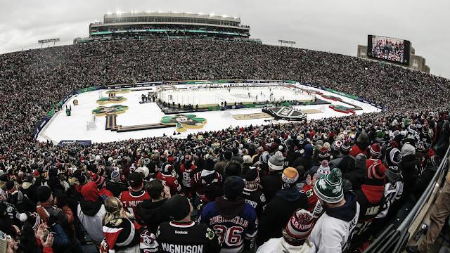 HOCKEY HIELO - Stars y Predators en el Cotton Bowl Stadium, y Avalanche-Kings en el Falcon Stadium